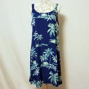 Vintage Bishop Street Apparel Hawaiian Print Dress